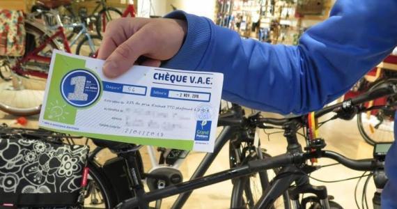 chèque achat vélo électrique