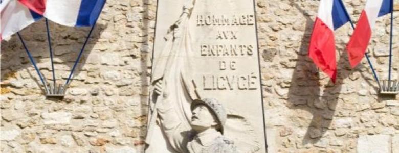 monument aux morts Ligugé