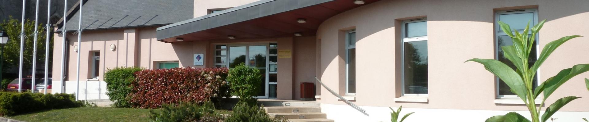 Façade de la médiathèque Municipale